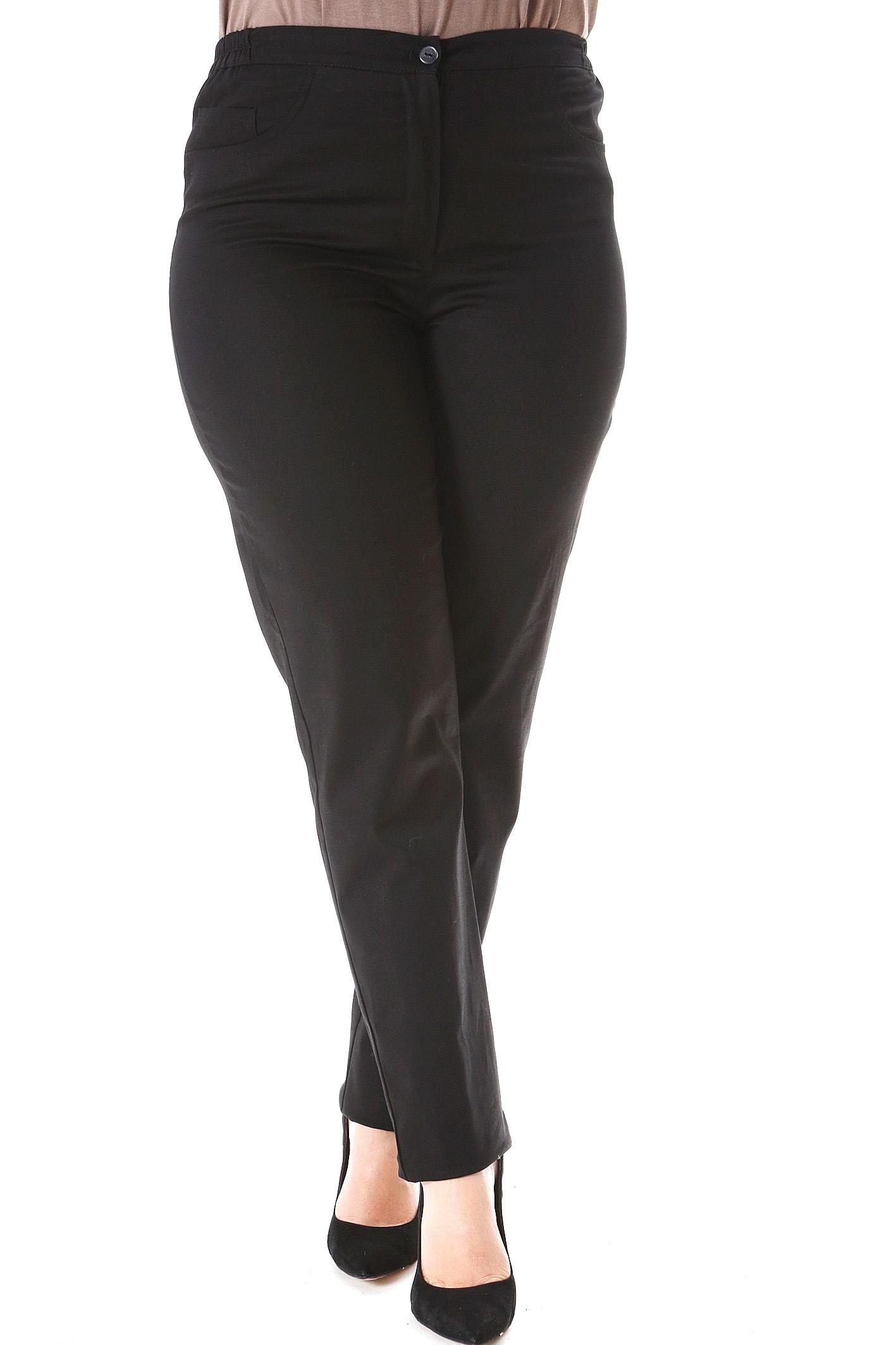 Παντελόνι κλείνει με μονοκούμπι Ίσια γραμμή Ελαστικό Μαύρο χρώμα Διαθέσιμα μεγέθη από 2 έως 6. Το μοντέλο έχει ύψος 1.75cm και φοράει μέγεθος 2.