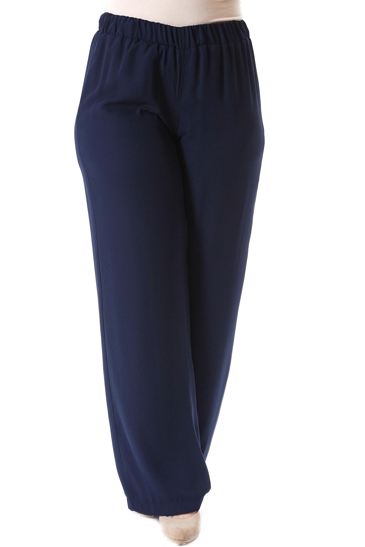 Παντελόνα διπλή ζορζέτα μπλε νέες αφίξεις   ενδύματα   παντελόνια   κολάν   siderati   brands
