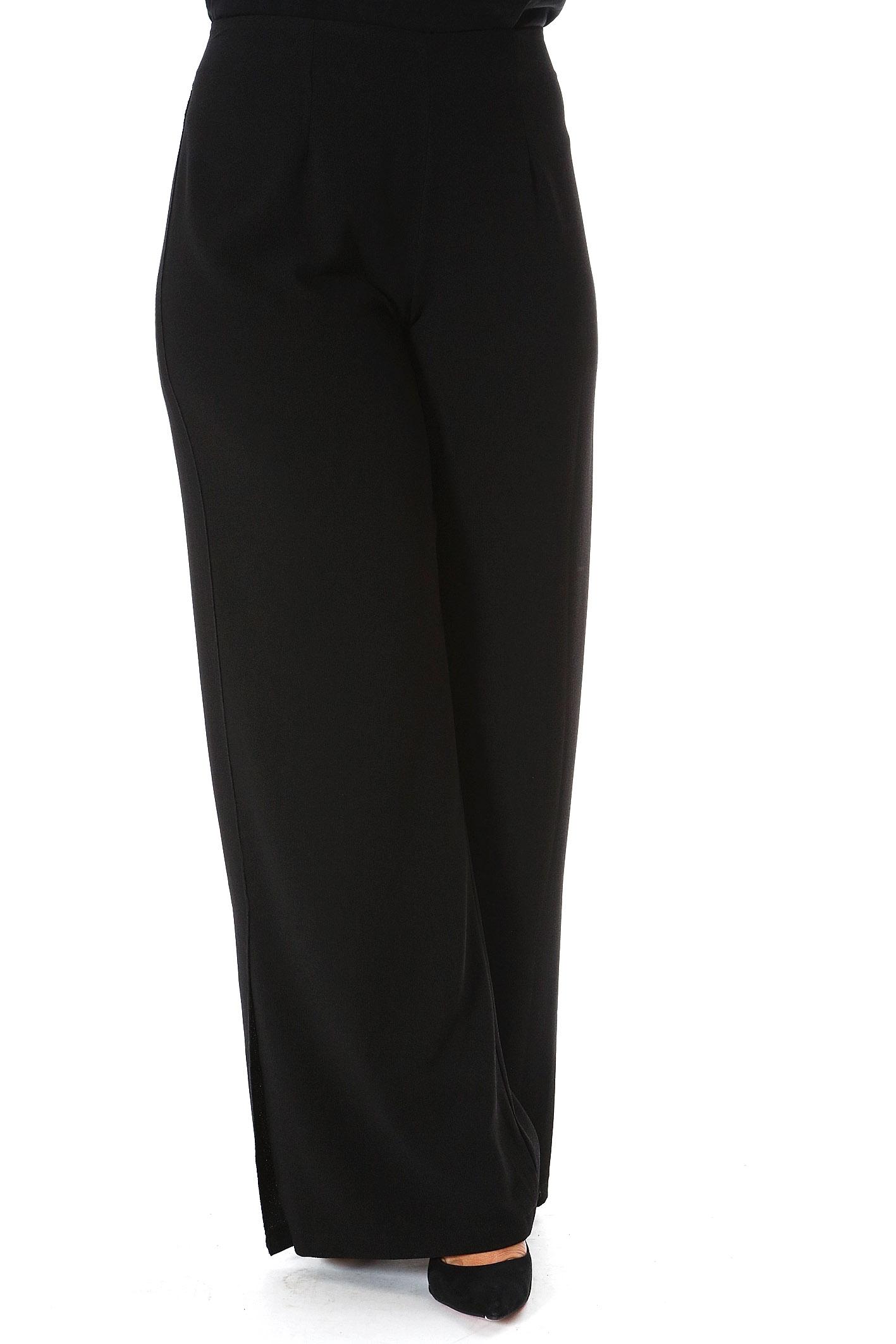 Παντελόνα κρεπ μαύρη νέες αφίξεις   ενδύματα   παντελόνια   κολάν