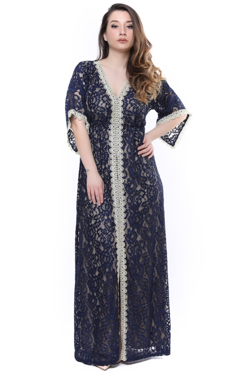 Maxi δαντελένιο φόρεμα νέες αφίξεις   ενδύματα   demi φορέματα   brands   siderati   φορέματα