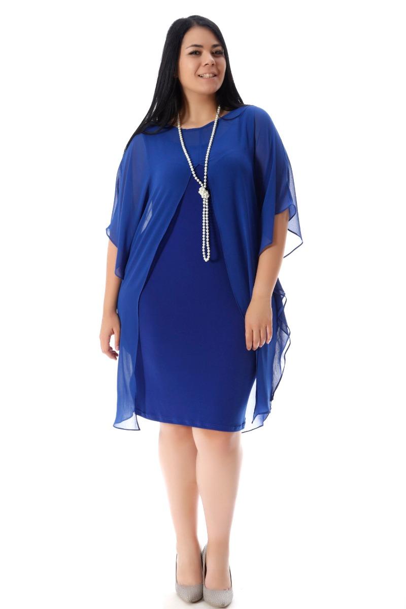 7010c829670c Midi φόρεμα αμάνικο Ρουά χρώμα Ίσια γραμμή Ελαστικό Ασύμμετρη μουσελίνα 3 4  μανίκια Η γραμμή