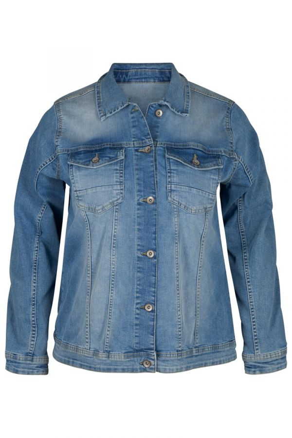 Denim light blue jean jacket