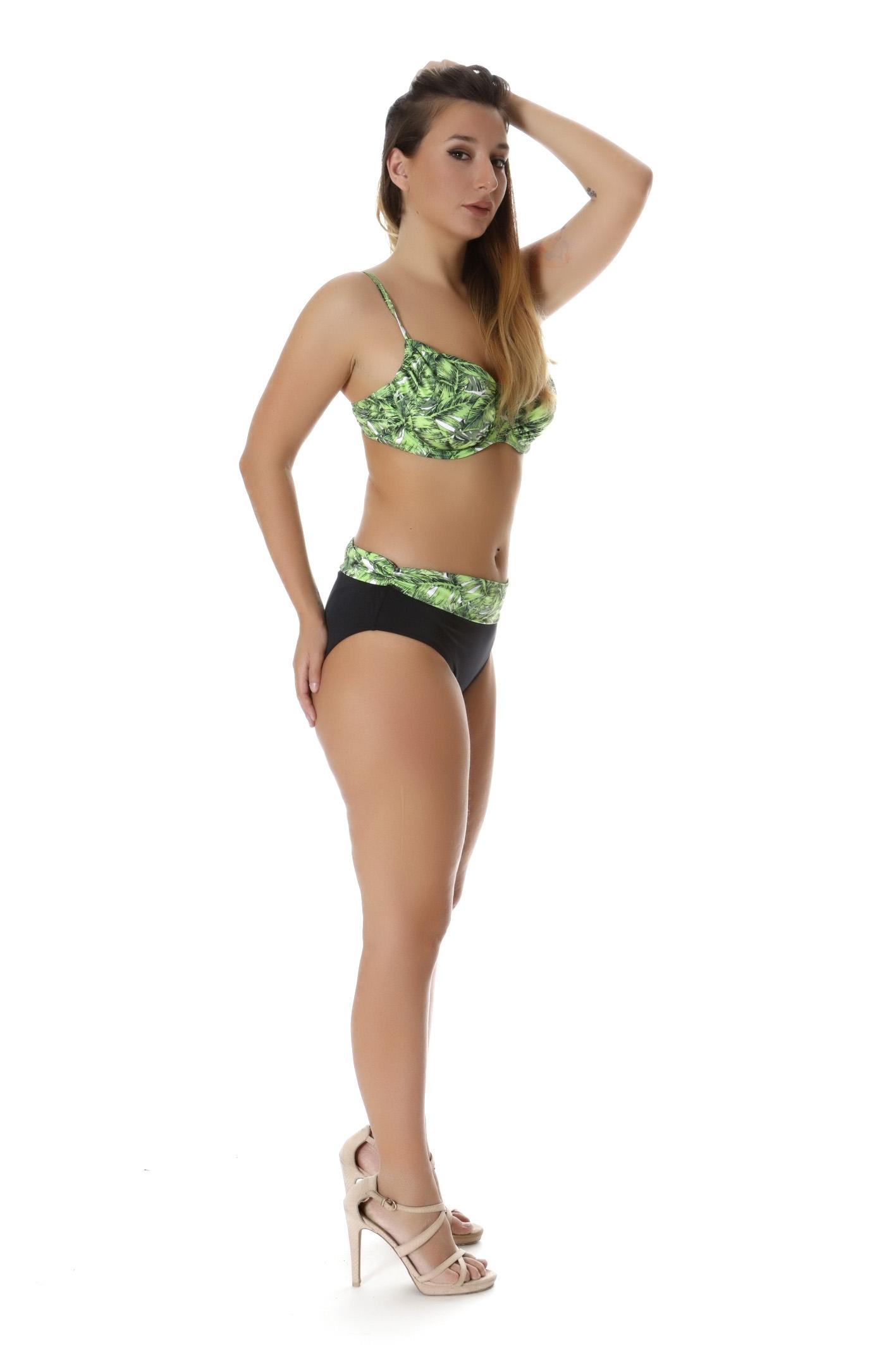 Bikini σετ με φύλλα