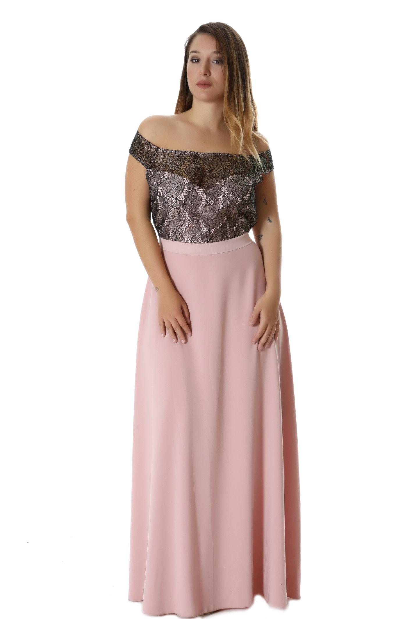 294b1b4764a3 Γυναικεία > Ρούχα > Φορέματα > Μακριά / Maxi φόρεμα παγέτα σε ροζ ...