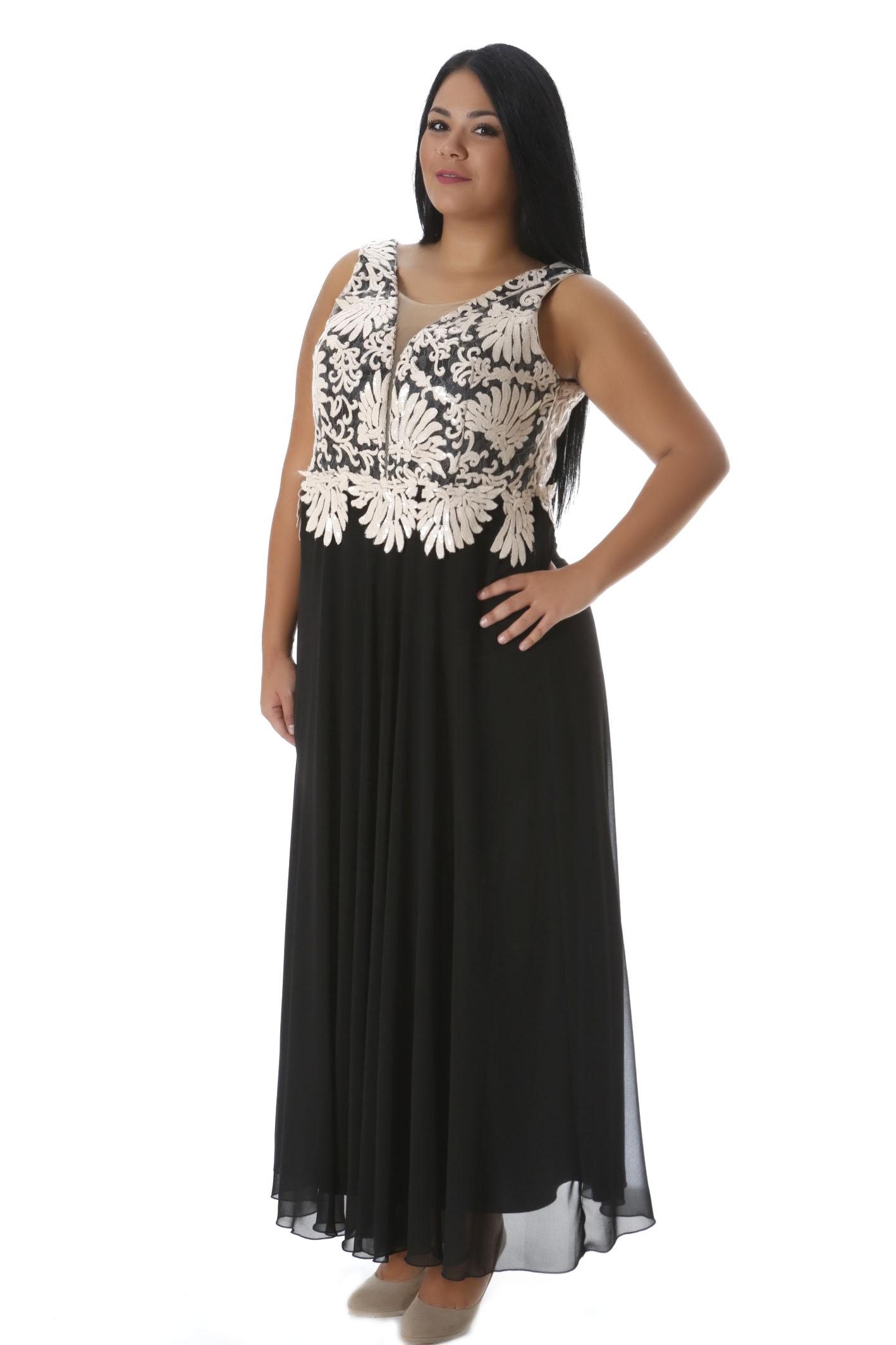 2dceb48395bf Maxi φόρεμα μαύρο πούδρα