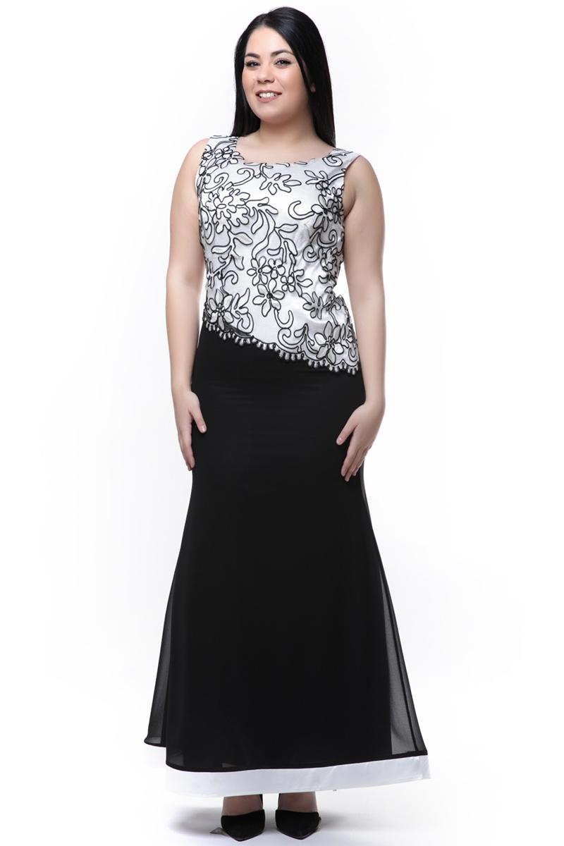 c9dc96f6726d Maxi φόρεμα ασπρόμαυρο