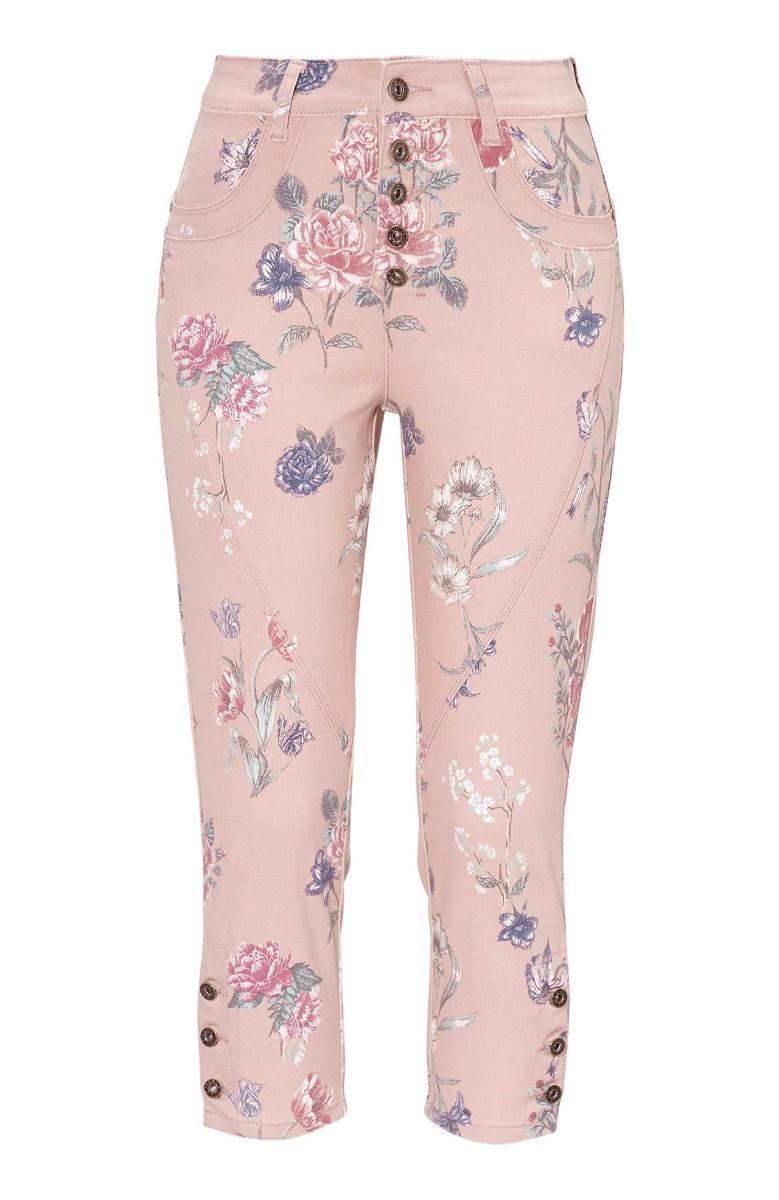 Παντελόνι jean Χρώμαdenim pink Ψηλόμεσο Σε ίσια γραμμή 5τσεπο Κλείσιμο με κουμπιά Εσωτερικό μήκος 56-58cm Μήκος 3/4 Ελαστικό ύφασμα Σύνθεση: 98%COT 2%EL Η γραμμή είναι κανονική - επιλέξτε το κανονικό σας μέγεθος.Ιδανικό jean για υπέροχα spring %26 summer outfits.Διαθέσιμα μεγέθη από 44 έως 60. Το μοντέλο έχει ύψος 1.75cm και φοράει μέγεθος 44.