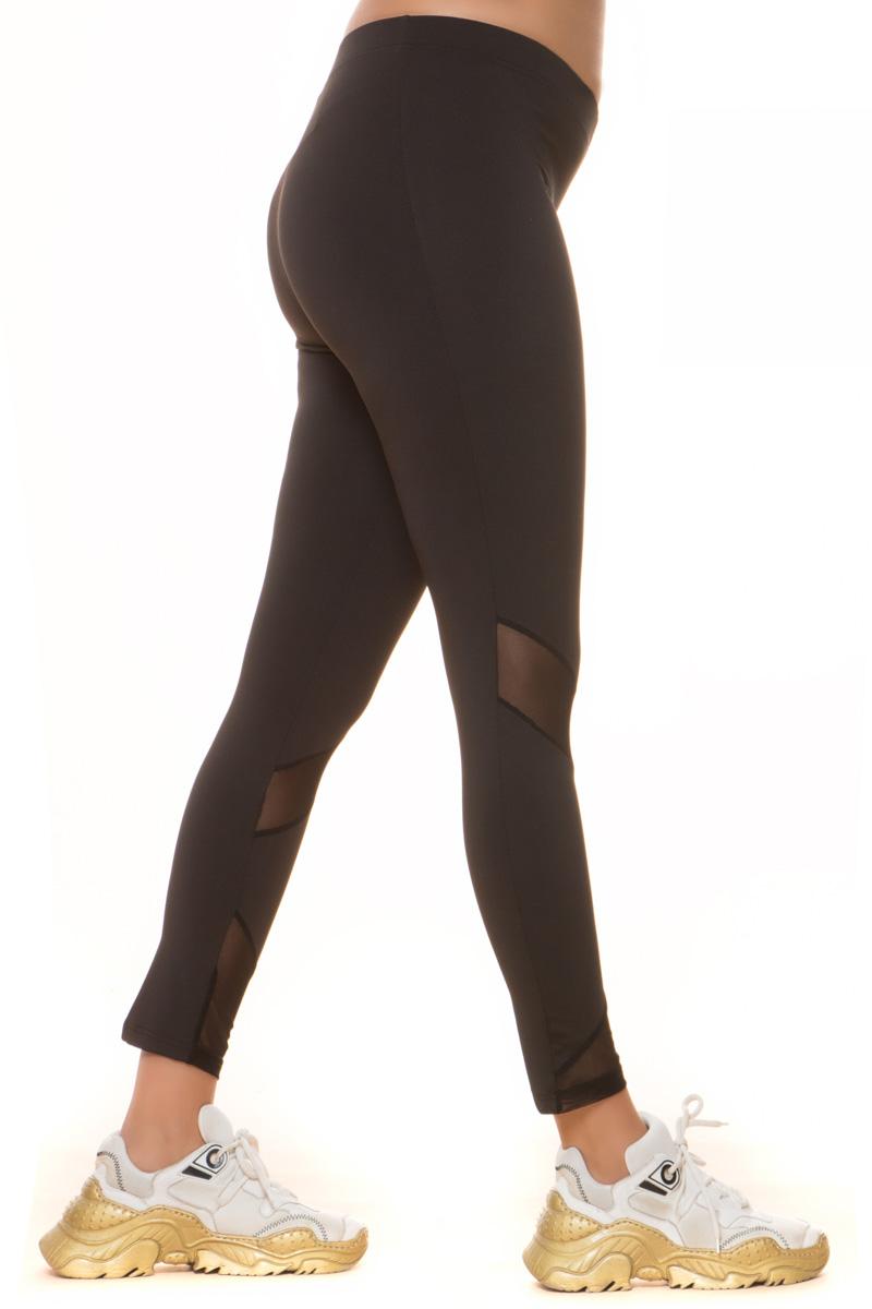 Αθλητικό κολάν Μαύρο χρώμα Ελαστικό ύφασμα Με διαφάνεια στο γόνατο και στο τελείωμα Σύνθεση 92%POL 8%SPAN Η γραμμή είναι κανονική - Συμβουλευτείτε το μεγεθολόγιο. Ιδανικό γυμναστήριο αλλά και casual βόλτες.Διαθέσιμα μεγέθη από S έως ΧXL.Το μοντέλο έχει ύψος 1.75cm και φοράει μέγεθος S.
