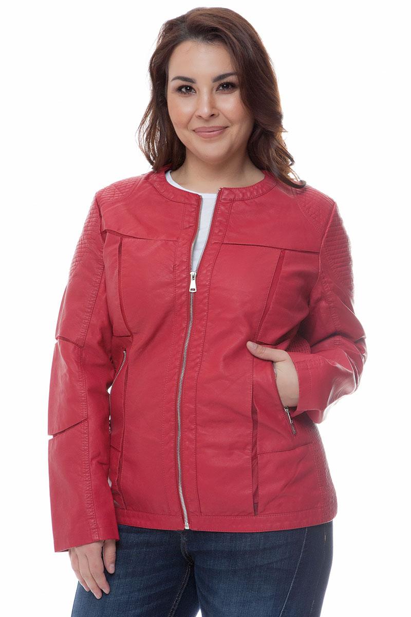 Leather-like jacket Κόκκινο χρώμα Μακριά μανίκια Με κλειστη λαιμόκοψη Κλείσιμο με φερμουάρ Τσέπεςμε φερμουάρ Διαθέτει φάσες από τούλι Σταθερό ύφασμα Σύνθεση 65%PU 28%COT 7%POL Η γραμμή είναι κανονική - Συμβουλευτείτε το μεγεθολόγιο. Κατάλληλο για όλες τις ώρες και περιστάσεις. Διαθέσιμα μεγέθη από 44 έως 54. Το μοντέλο έχει ύψος 1.75cm και φοράει μέγεθος 44.