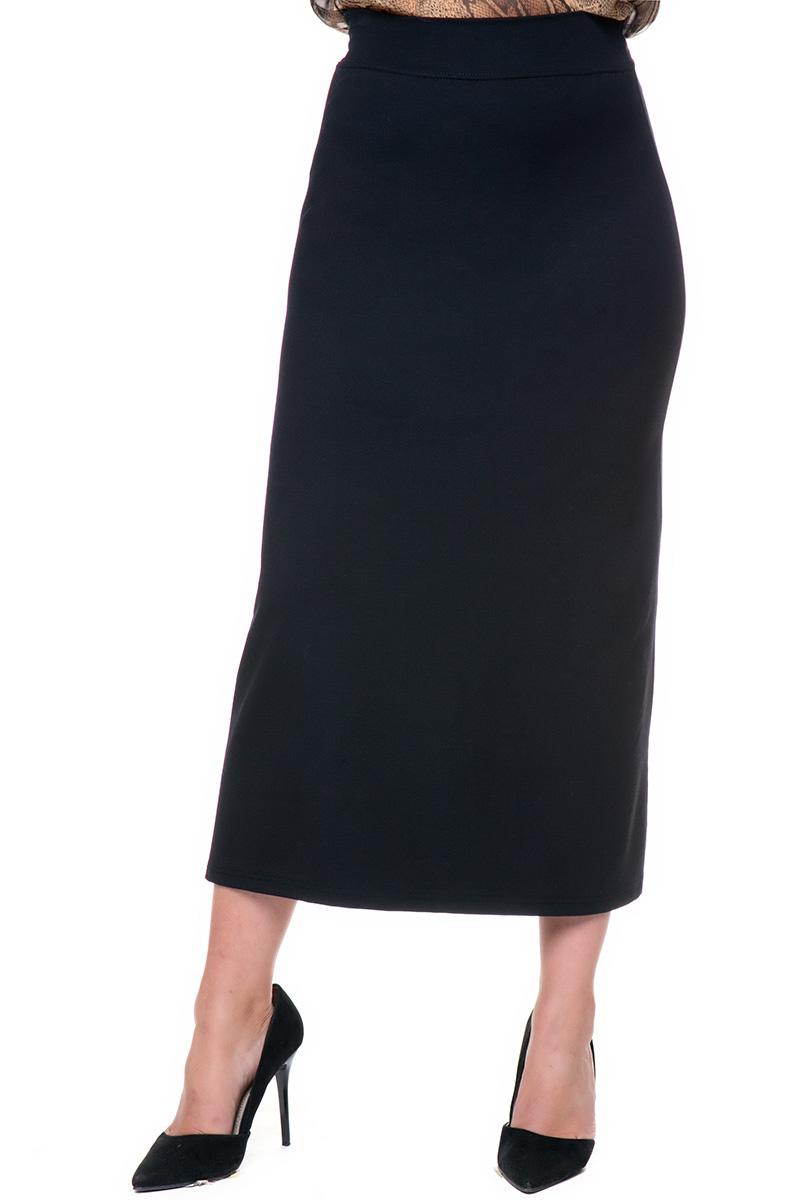 e00f887c17ec Maxi ελαστική φούστα σε μαύρο χρώμα