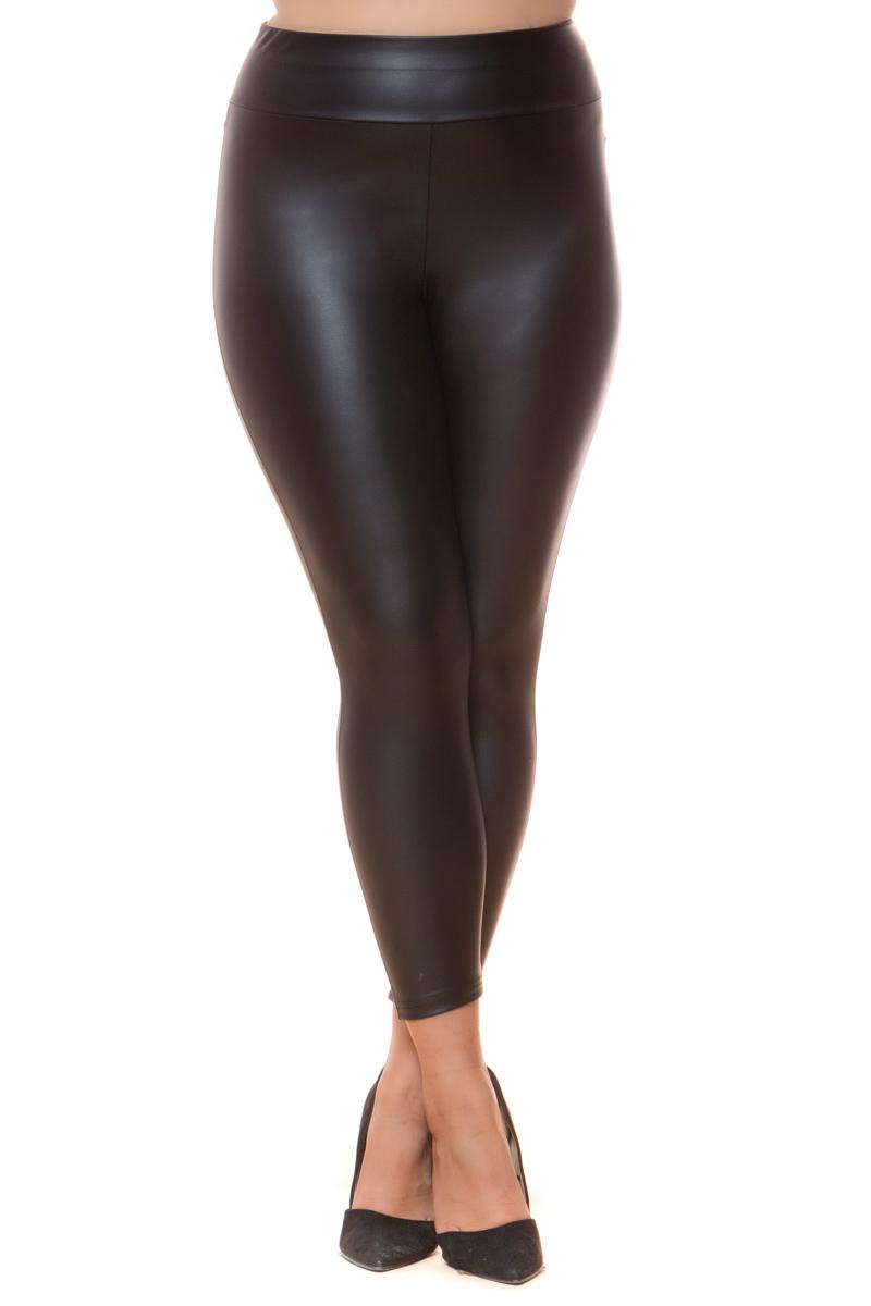 Παντελονοκολάν Μαύρο χρώμα Leather-like Διαθέτει άνετη μπάσκα Ελαστικό ύφασμα Ίσια στενή γραμμή Σύνθεση:96%POL 4%SP Η γραμμή είναι στενή. Συμβουλευτείτε το μεγεθολόγιο.Ιδανικό για να φορεθέι από το πρωί έως το βράδυ.Διαθέσιμα μεγέθη από S έως XXL.Το μοντέλο έχει ύψος 1.75cm και φοράει μέγεθος S.