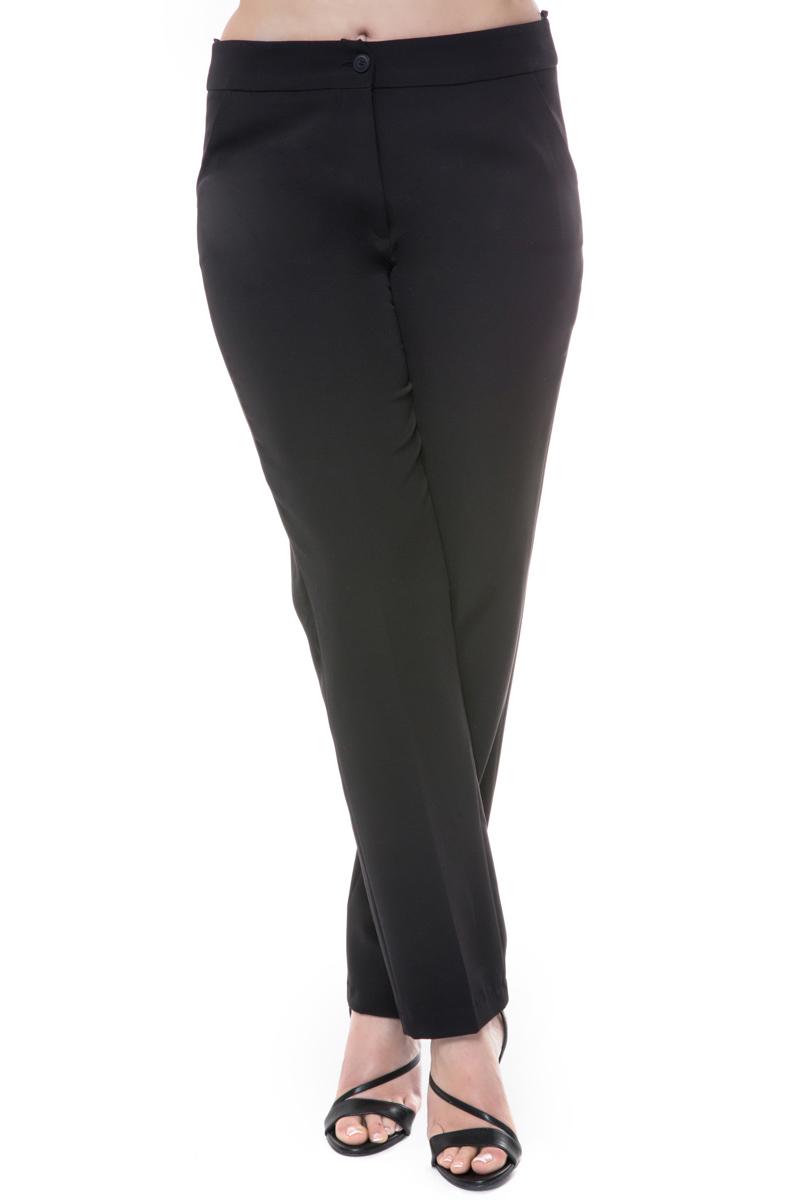 Παντελόνι με πιέτες Κλείνει με κουμπί και φερμουάρ Ίσια γραμμή Μαύρο χρώμα Διαθέσιμα μεγέθη από Μ έως 4XL. Σύνθεση: 88%POL 12%SPAND. Το μοντέλο έχει ύψος 1.75cm και φοράει μέγεθος Μ.