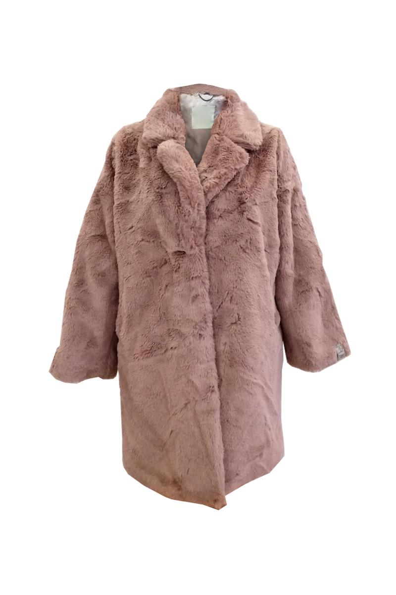 Παλτόζακέτα Οικολογική γούνα Χρώμα πούδρας V λαιμόκοψη με γιακά Εσωτερική τσέπη Με φόδρα Διαθέτει τσέπες Κλείνει με κόπιτσες Σταθερό ύφασμα οικολογικής γούνας Σύνθεση100%POL Η γραμμή είναι κανονική - Συμβουλευτείτε το μεγεθολόγιο. Ιδανική για όλες τις ώρες της ημέρας. Διαθέσιμα μεγέθη από 38 έως 48.