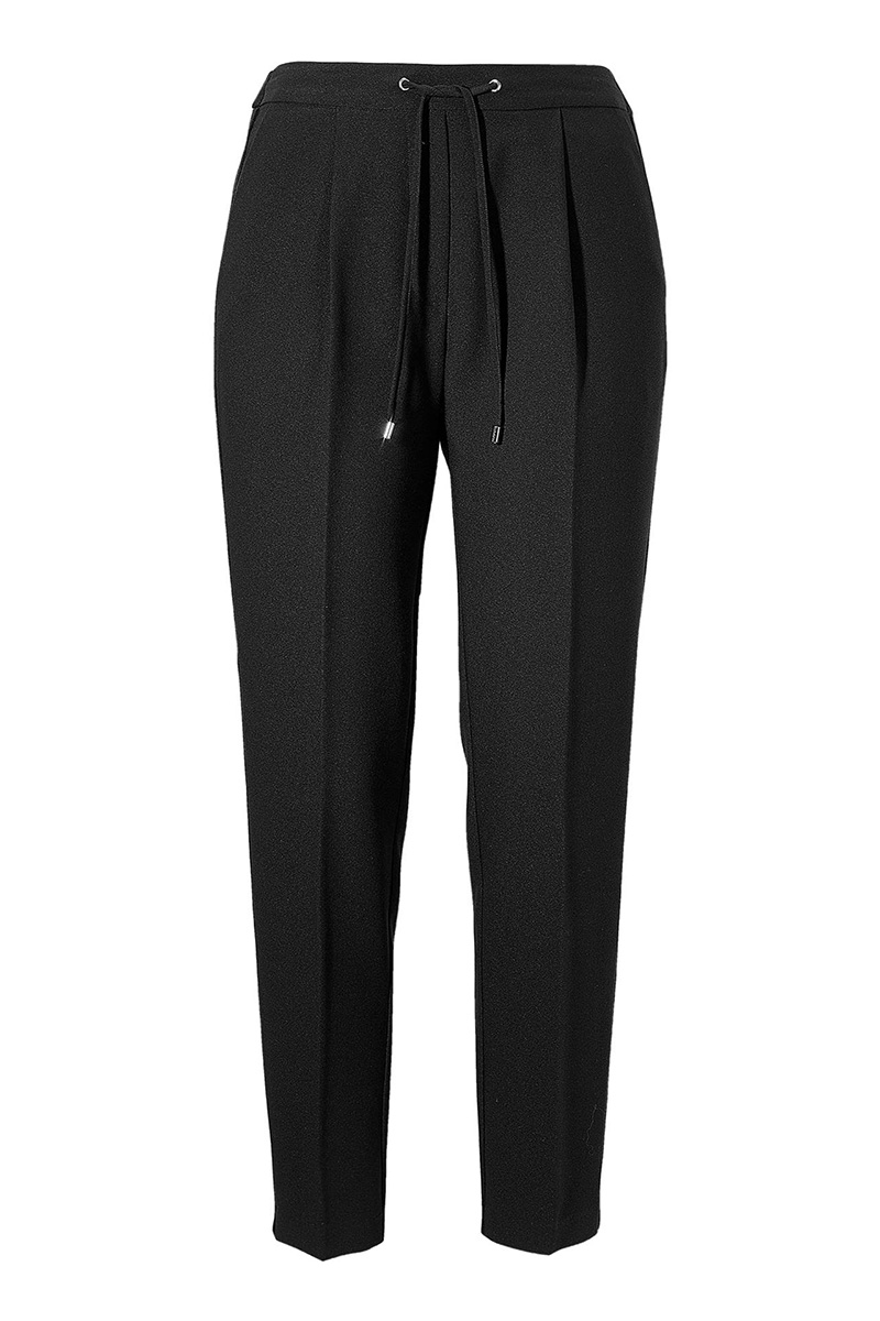 e32fbe01f676 Παντελόνι joggers Μαύρο χρώμα Λάστιχο στην μέση Ελαστικό ύφασμα Κορδόνι  στην μέση Διαθέτει λεπτή πλαινή τρέσα