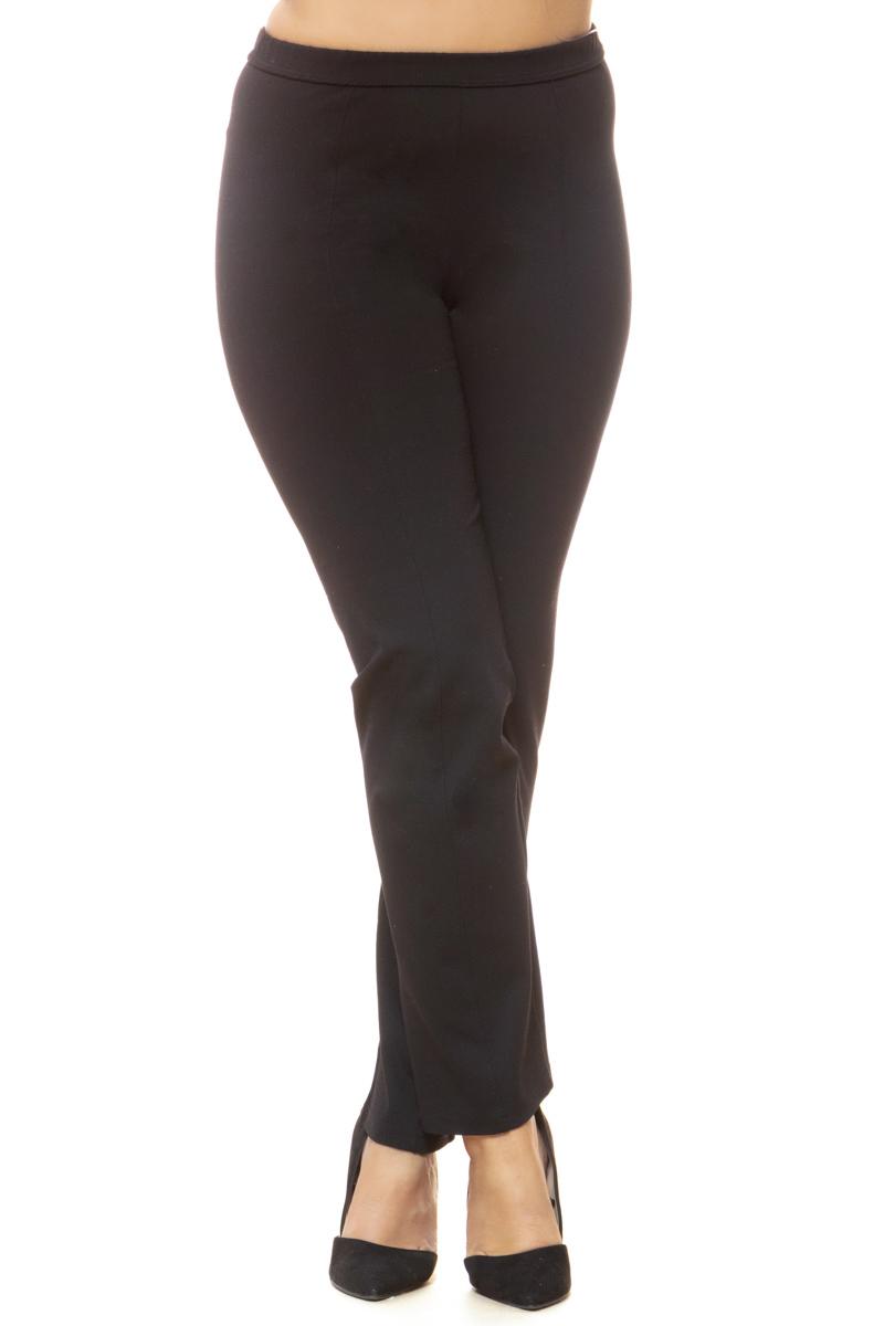 Παντελόνι με νερβίρ Χρώμα μαύρο Λάστιχο στη μέση Ίσια γραμμή Ελαστικό ύφασμα Μακρύ Σύνθεση: 65%RA 30%NY 5%SP Η γραμμή είναι κανονική - Συμβουλευτείτε το μεγεθολόγιο. Κατάλληλο για όλες τις ώρες και περιστάσεις. Διαθέσιμα μεγέθη από M έως 4XL. Το μοντέλο έχει ύψος 1.75cm και φοράει μέγεθος M.