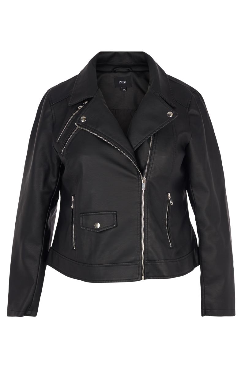 Jacket τύπου perfecto Mαύρο χρώμα Κοντό Μακρύ μανίκι Με κλειστη λαιμόκοψη Κλείσιμο με φερμουάρ Τσέπεςμε φερμουάρ Σταθερό ύφασμα Σύνθεση100%POL Η γραμμή είναι κανονική - Συμβουλευτείτε το μεγεθολόγιο. Κατάλληλο για όλες τις ώρες και περιστάσεις. Διαθέσιμα μεγέθη από S έως XL. Το μοντέλο έχει ύψος 1.75cm και φοράει μέγεθος S.