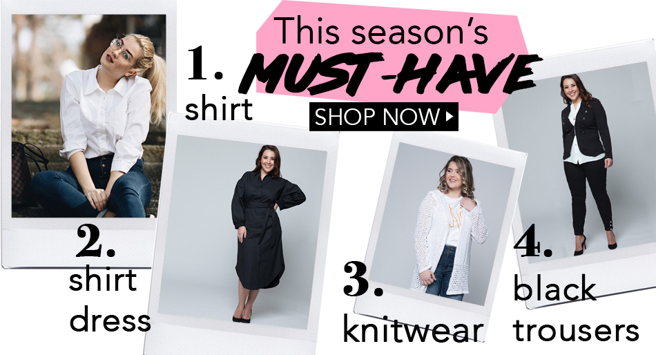 Γυναικεία ρούχα μεγάλο μέγεθος - HappySizes 76f45c83cf8