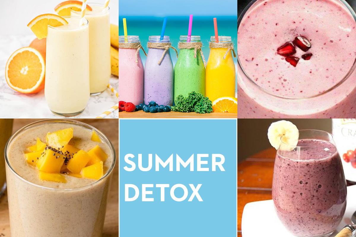 Summer Detox με τα πιο εύκολα smoothies