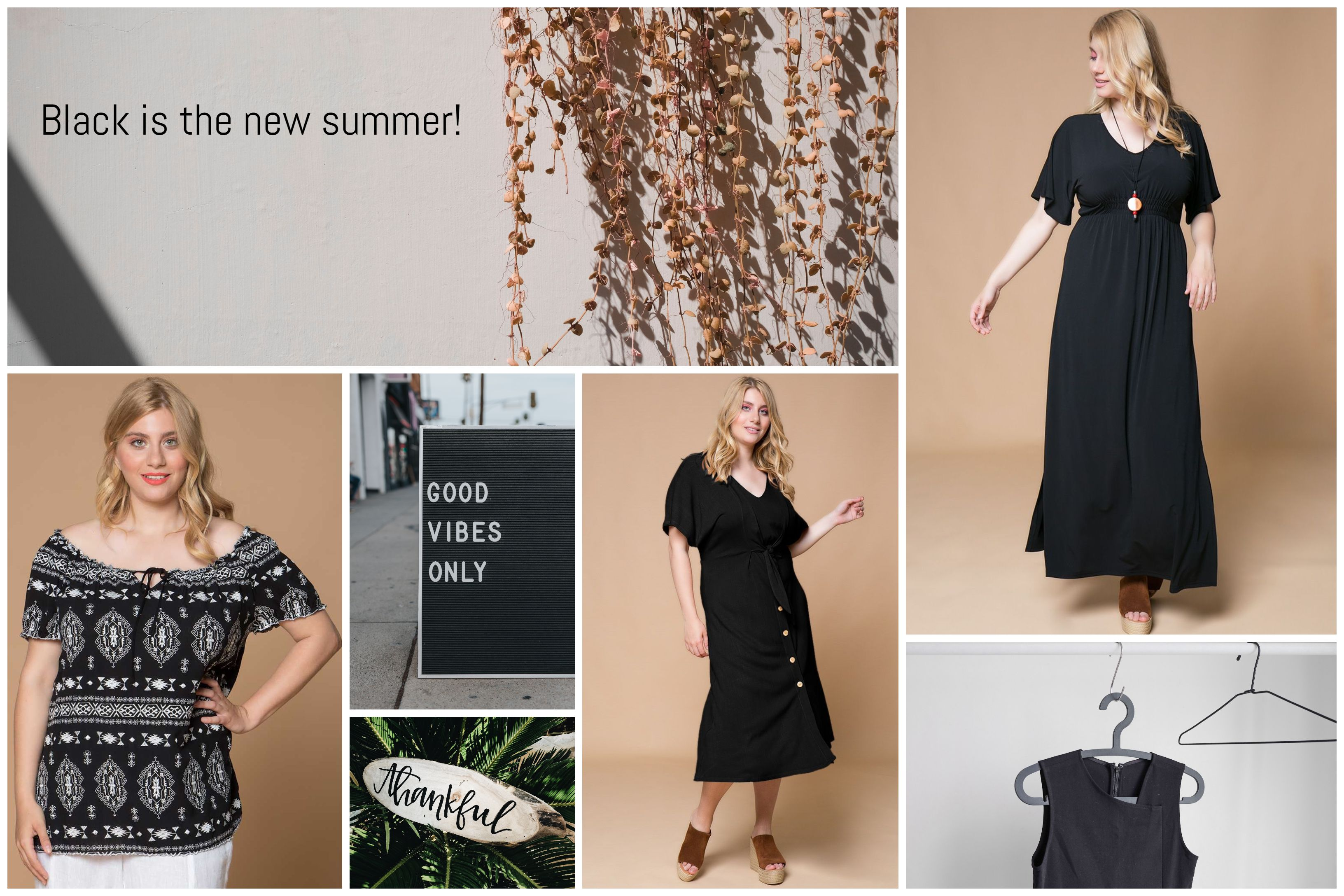 Black is the new summer!