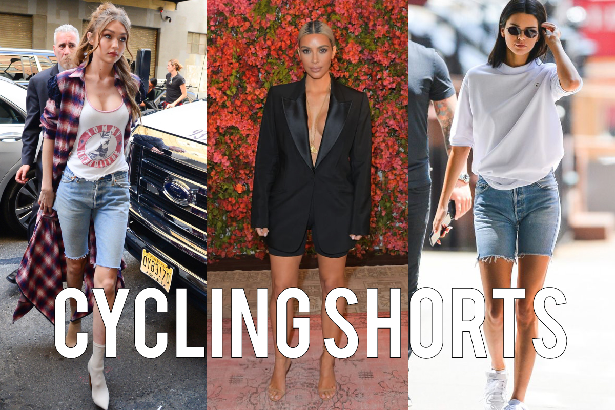 Cycling Shorts - No 1 Fashion Trend!