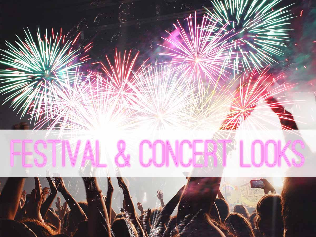 Looks για συναυλίες και festivals!