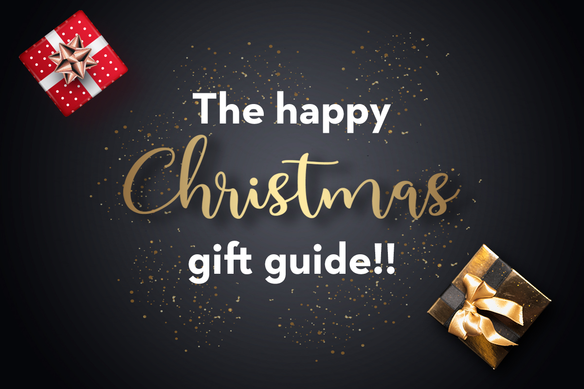 The happy christmas gift guide