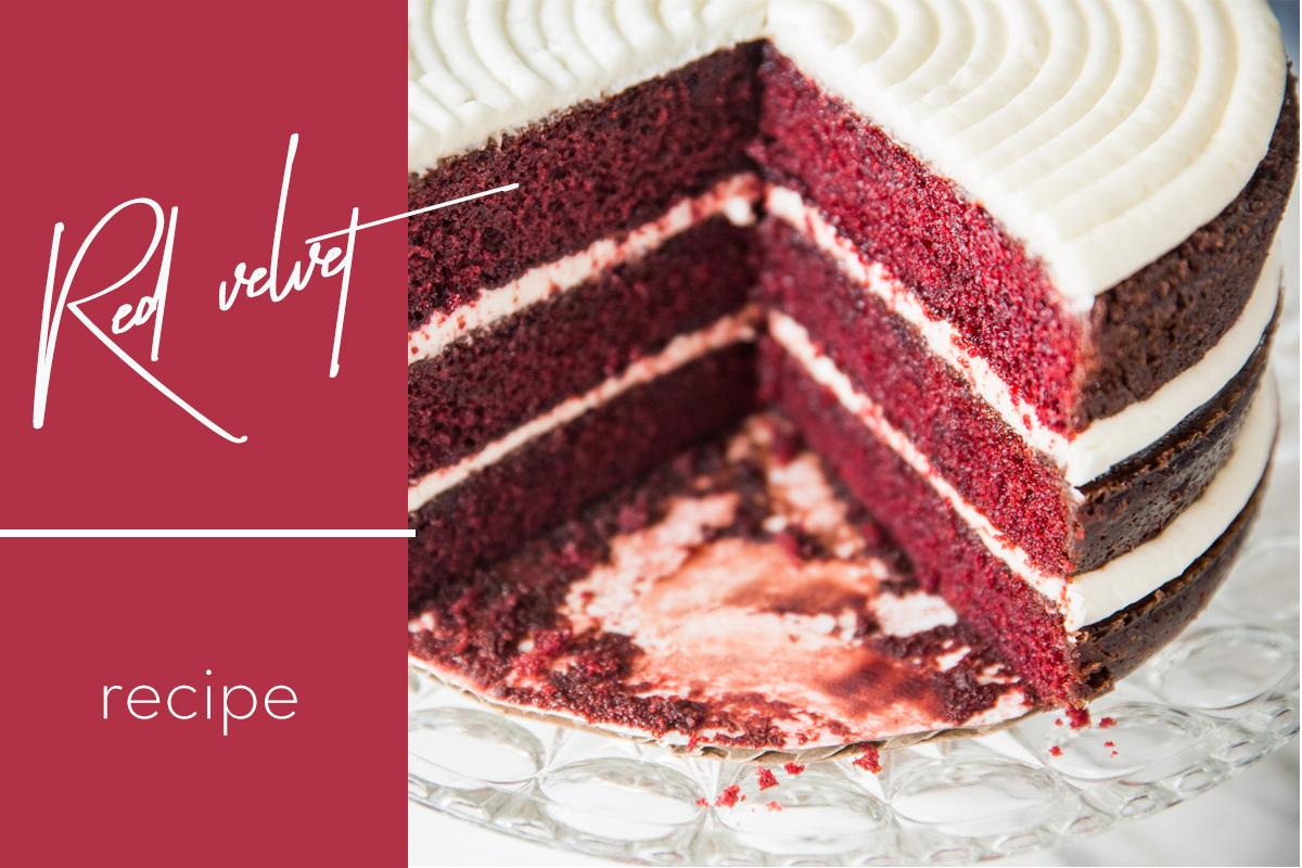 Birthday Cake: Red Velvet Edition!