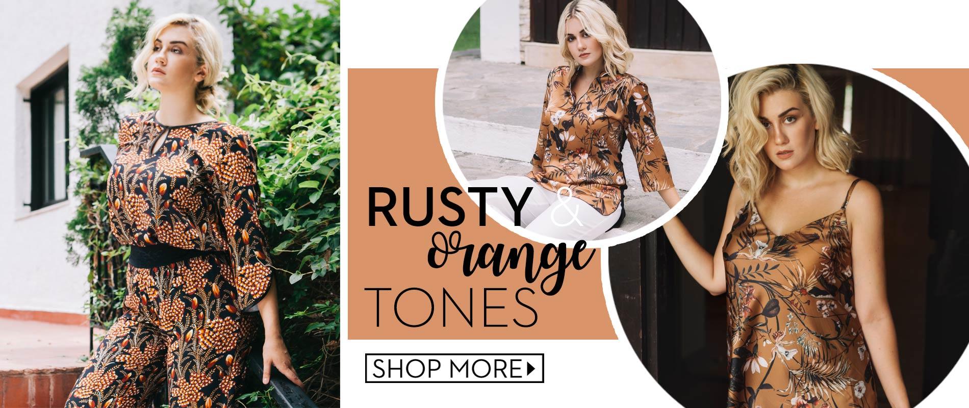 Rusty Orange Tones για να... ξεσκουριάσετε!