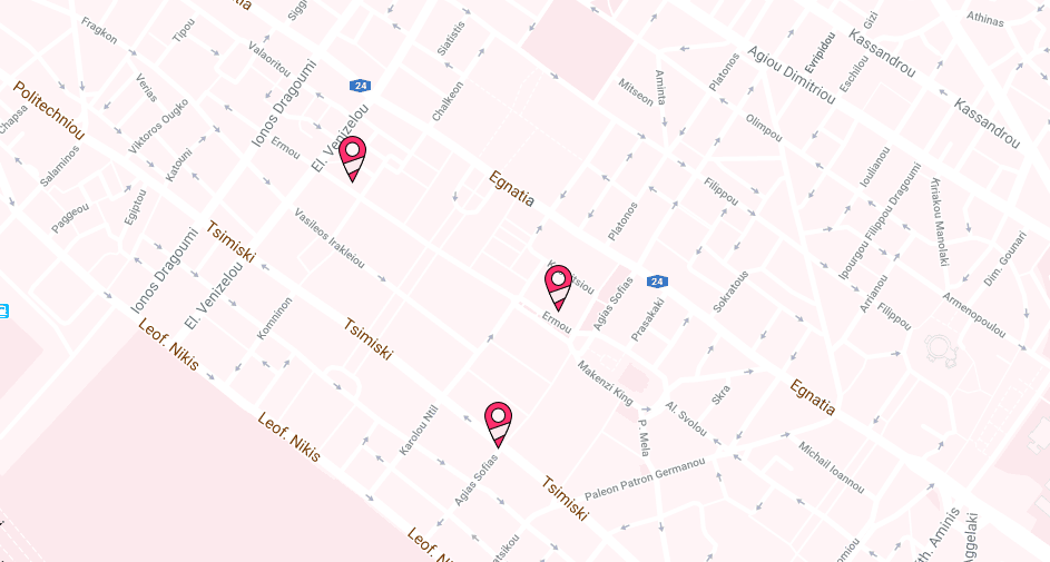 Stores Map